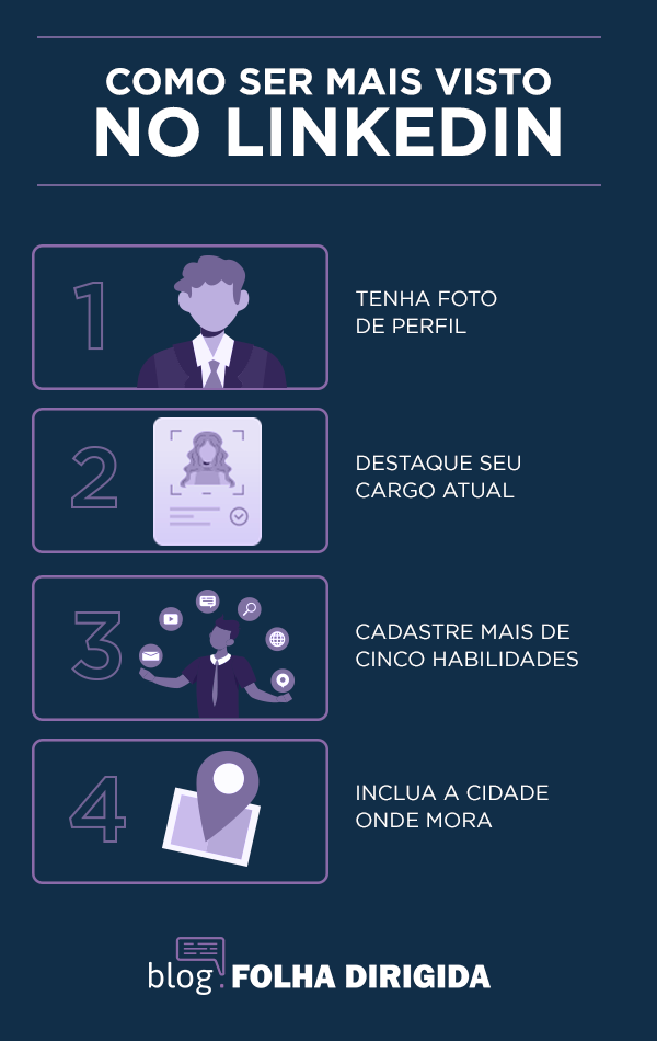 Como ser mais visto no linkedin